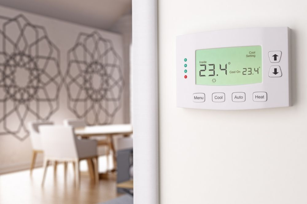 """How to fix a Honeywell thermostat that's flashing """"Cool on"""""""