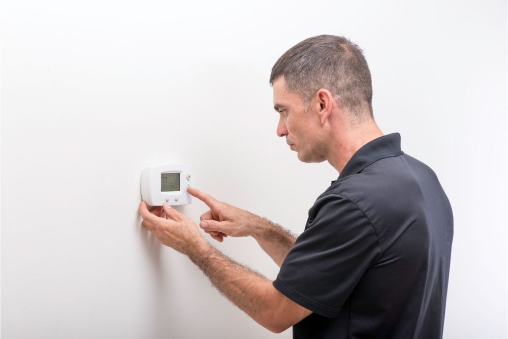 How to lock Honeywell thermostats
